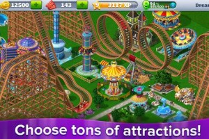 rollercoaster tycoon 4 mobile queue lines