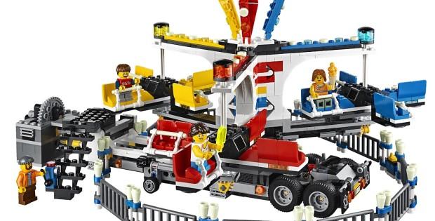 lego fairground mixer set