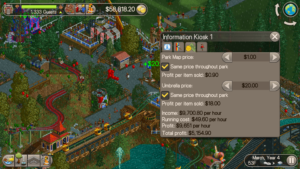 rct classic what to charge prices